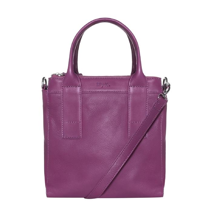 MyK. Ivy Bag plum - 1