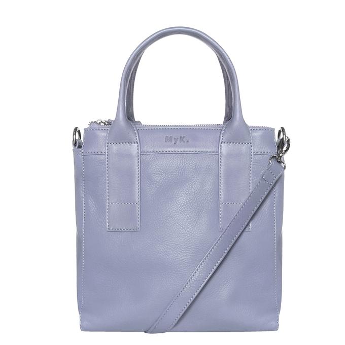 MyK. Ivy Bag silvergrey