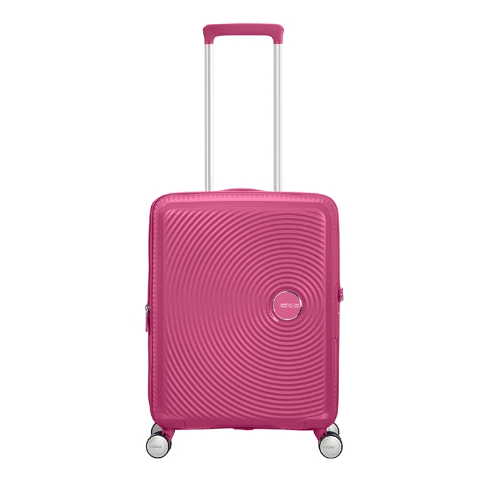 American Tourister Soundbox Spinner 55 Expandable magenta