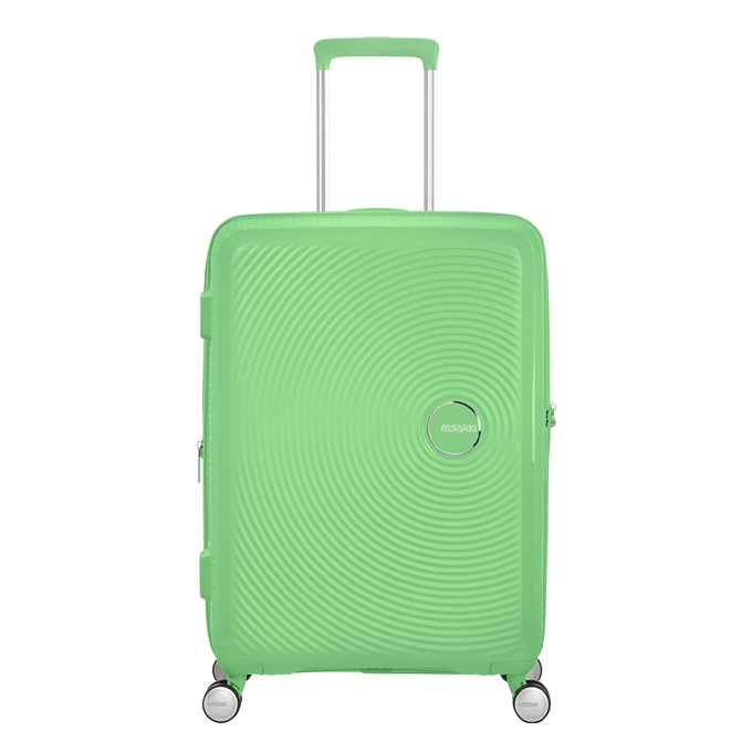 American Tourister Soundbox Spinner 67 Expandable spring green