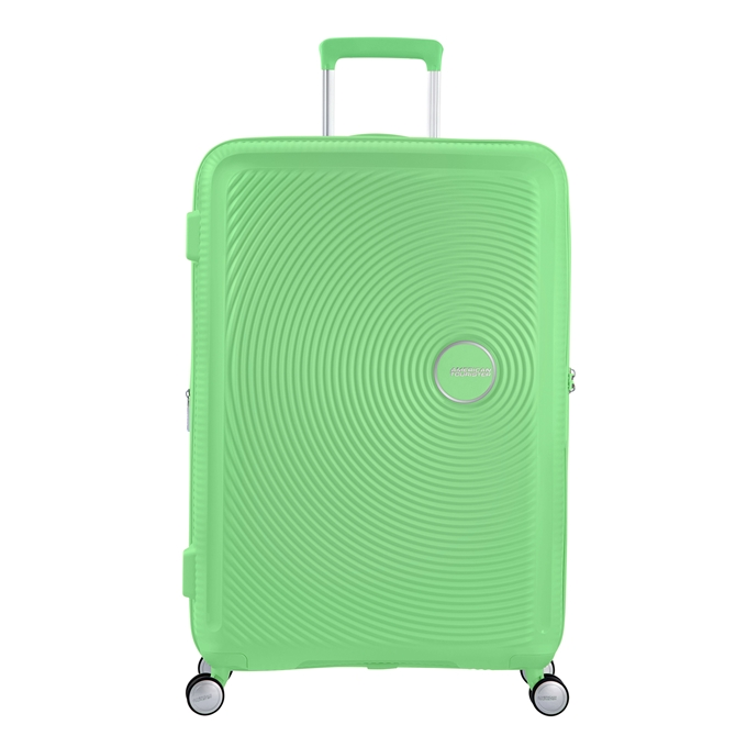 American Tourister Soundbox Spinner 77 Expandable spring green