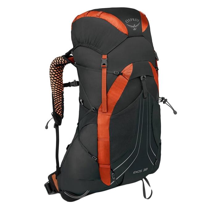 Osprey Exos 38 Medium Backpack blaze black - 1