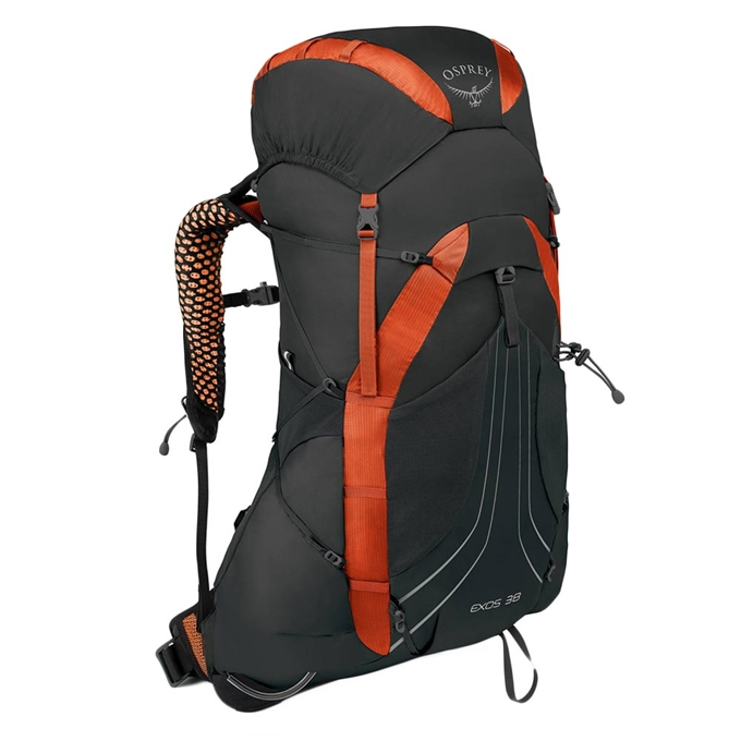 Osprey Exos 38 Large Backpack blaze black - 1