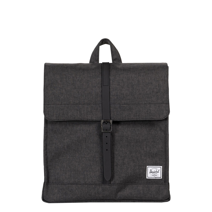 Herschel Supply Co. City Mid-Volume Rugzak black crosshatch/black