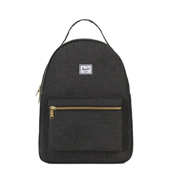 Herschel Supply Co. Nova Mid-Volume Rugzak black crosshatch - 1