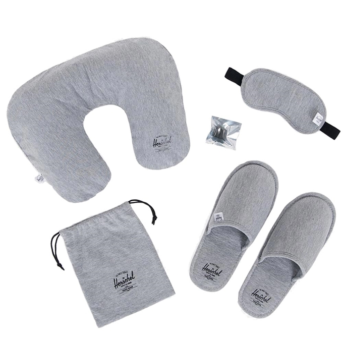 Herschel Supply Co. Travel Accessories Amenity L/XL heathered grey