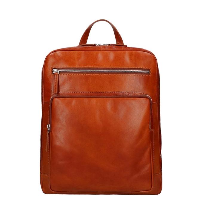 Leonhard Heyden Cambridge Backpack cognac - 1