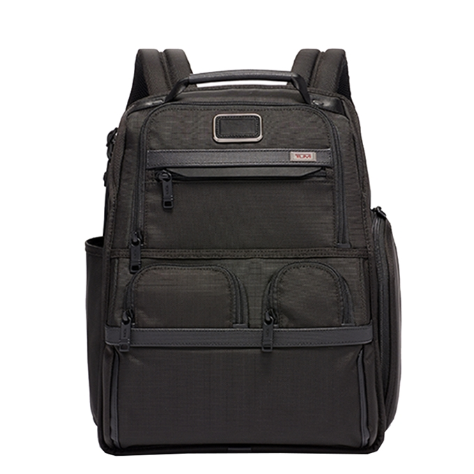 Tumi Alpha 2 Business/Travel Compact Laptop Brief Pack black - 1