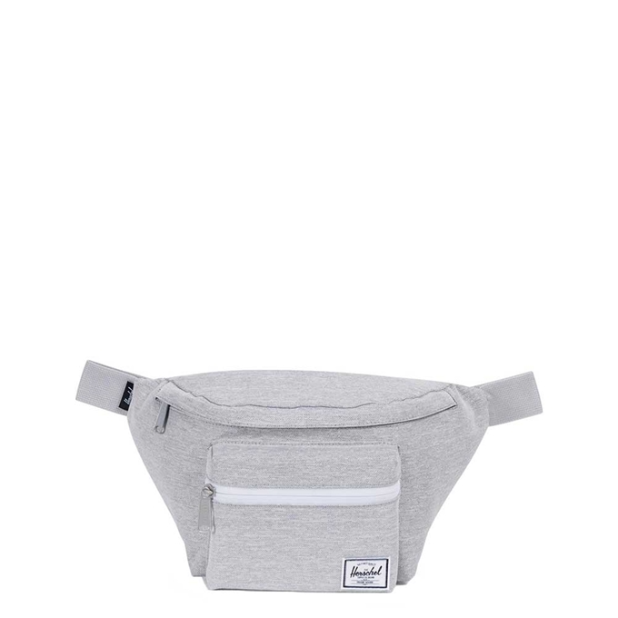 Herschel Supply Co. Seventeen Heuptas light grey crosshatch - 1