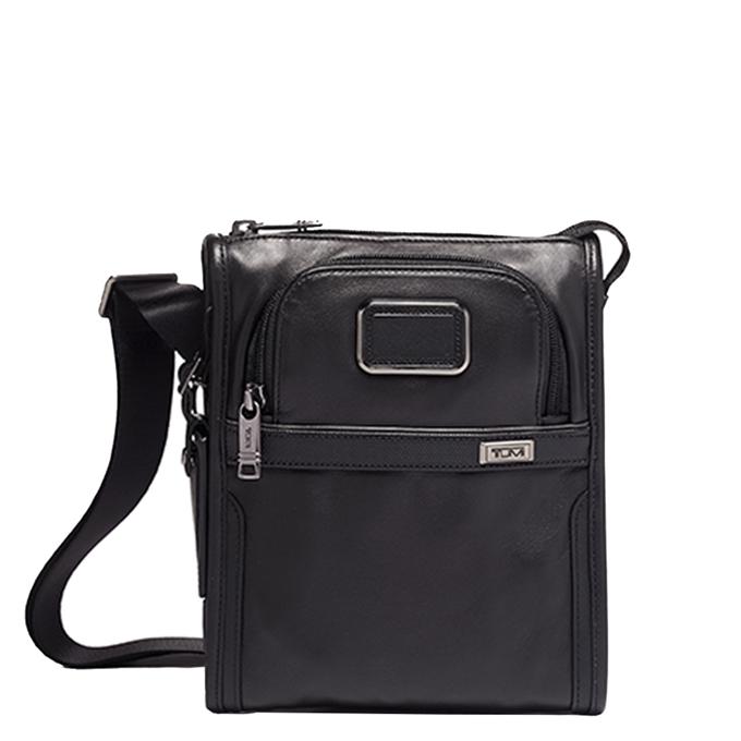 Tumi Alpha Pocket Bag Small Leather black - 1