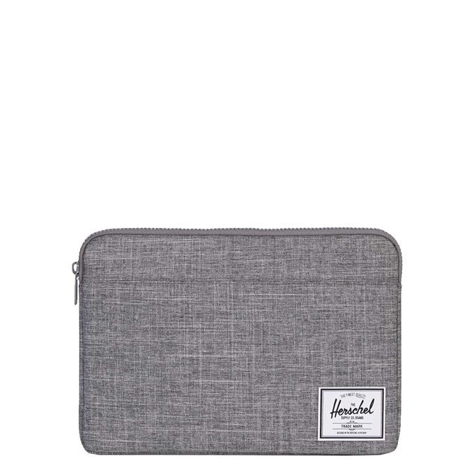 Herschel Supply Co. Anchor Laptop Sleeve 13'' raven crosshatch - 1