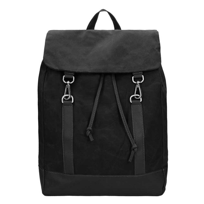 Jost Goteborg Drawstring Backpack black2 - 1