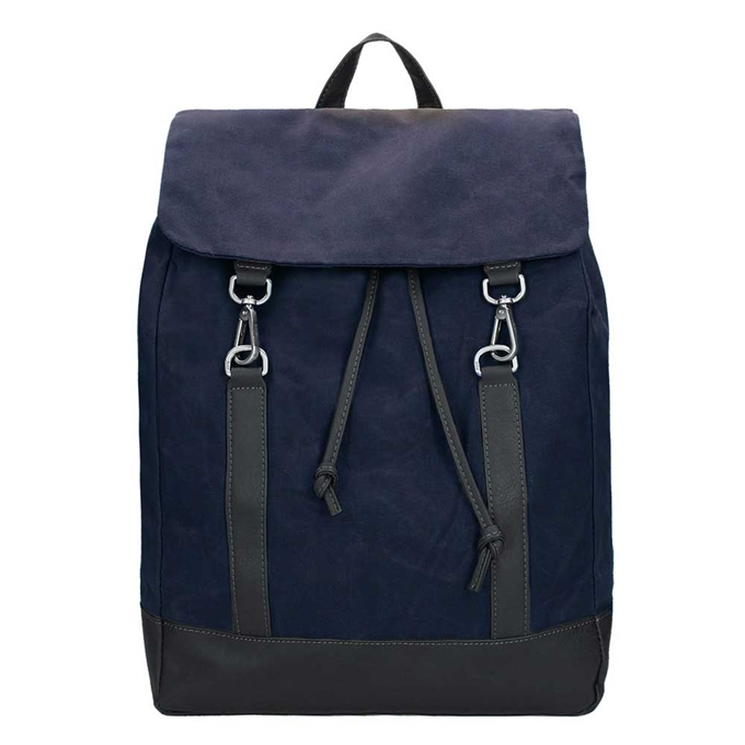 Jost Goteborg Drawstring Backpack navy - 1