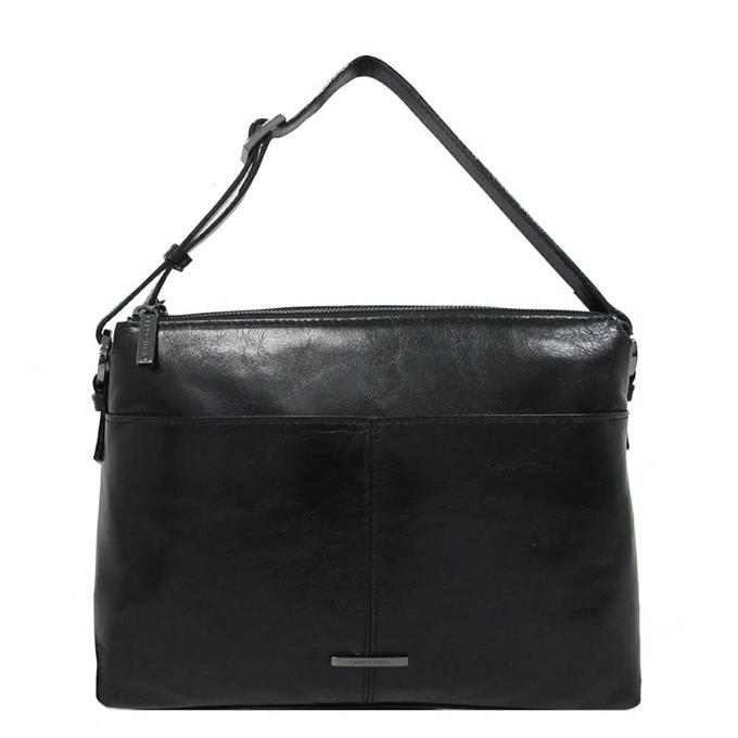Claudio Ferrici Pelle Vecchia Shoulder Bag black2