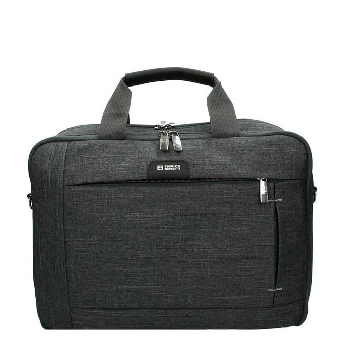 Enrico Benetti Sydney 15.6'' Laptoptas grey - 1