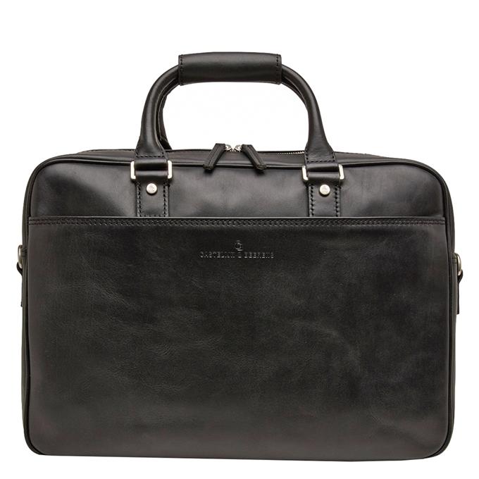 """Castelijn & Beerens Verona Business Laptoptas 15.6"""" zwart - 1"""