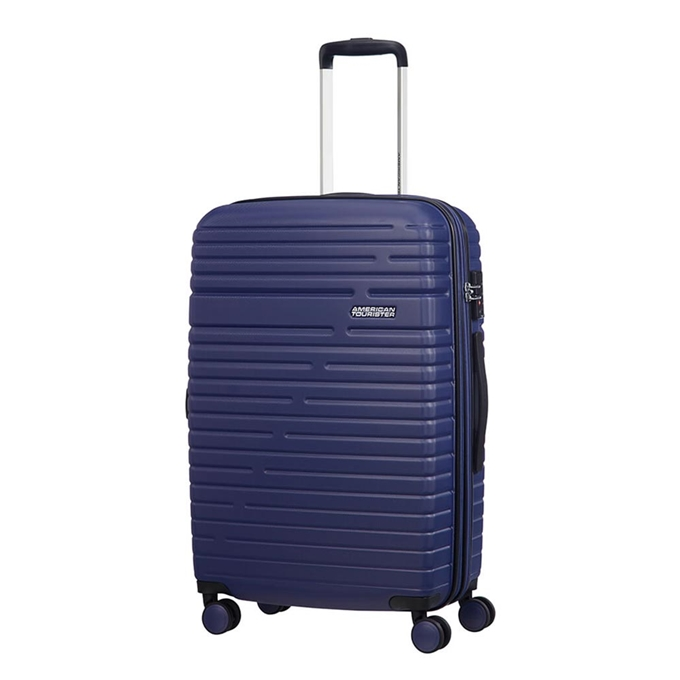 American Tourister Aero Racer Spinner 68 Expandable nocturne blue - 1