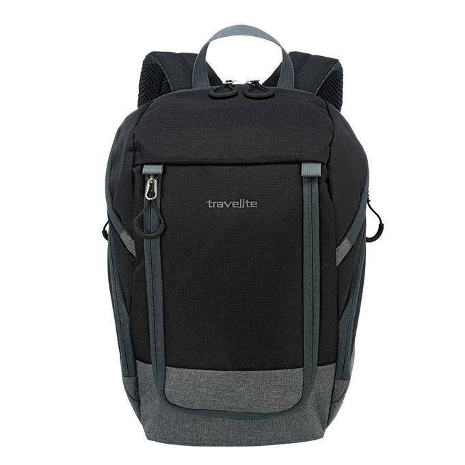 Travelite Basics Backpack black / grey