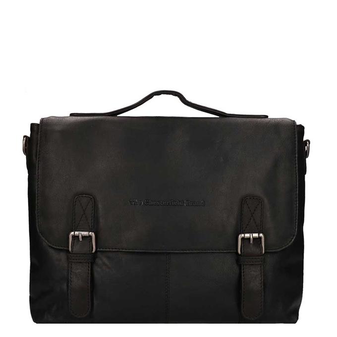 "The Chesterfield Brand Jules Portfolio Bag 13"" black - 1"