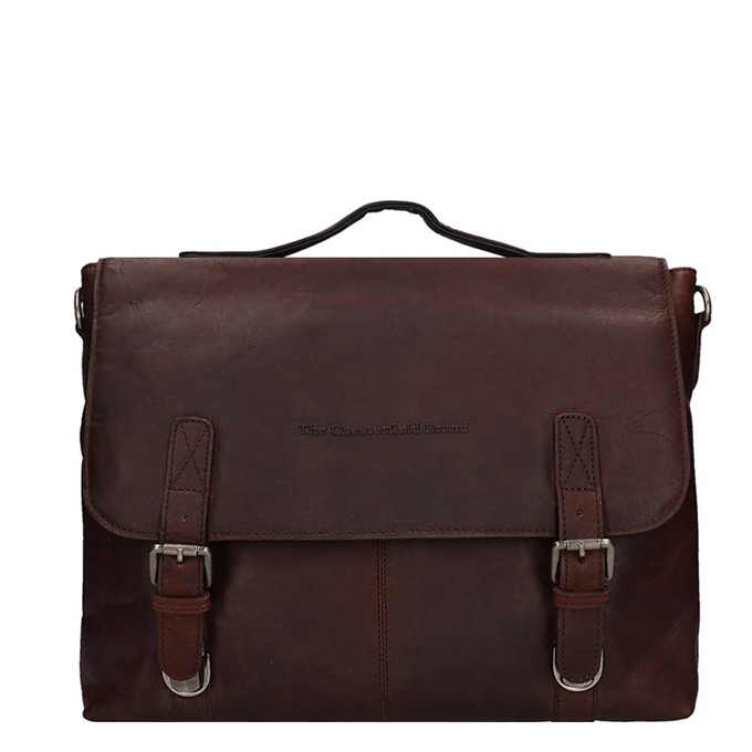 "The Chesterfield Brand Jules Portfolio Bag 13"" brown - 1"