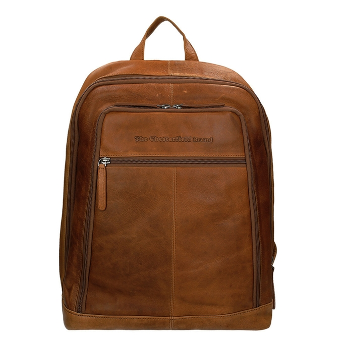 The Chesterfield Brand Rich Laptop Backpack cognac2 - 1