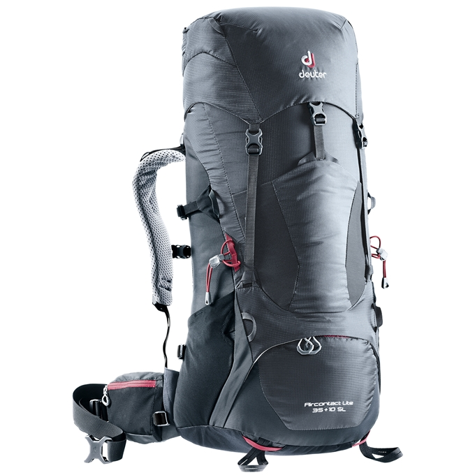 Deuter Aircontact Lite 35+10 SL Backpack graphite / black - 1