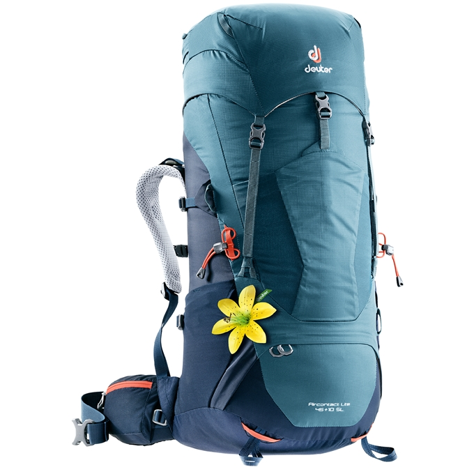 Deuter Aircontact Lite 45+10 SL Backpack arctic / navy - 1