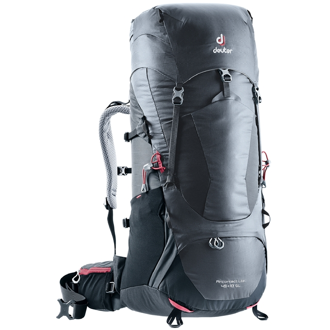 Deuter Aircontact Lite 45+10 SL Backpack graphite / black - 1