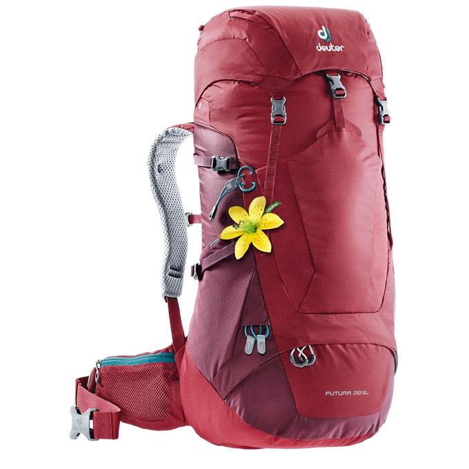 Deuter Futura 28 SL Backpack cranberry / maron