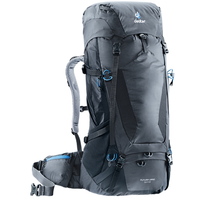 Deuter Futura Vario 50+10 Backpack graphite / black - 1