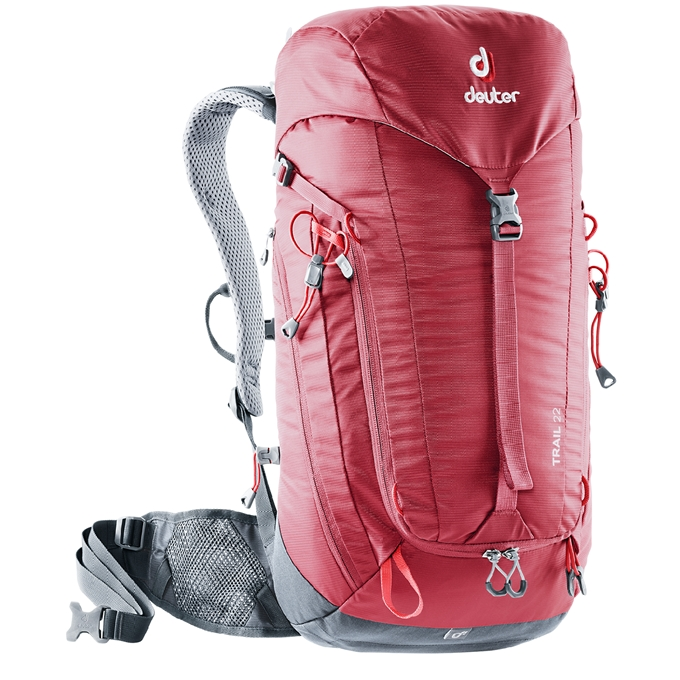 Deuter Trail 22 Backpack cranberry/graphite - 1