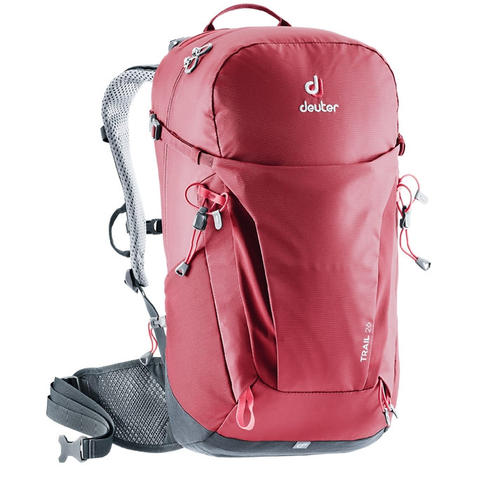 Deuter Trail 26 Backpack cranberry/graphite - 1