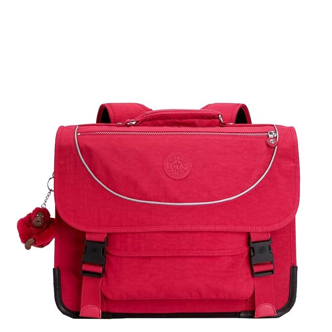 Kipling Preppy Schooltas Medium true pink - 1