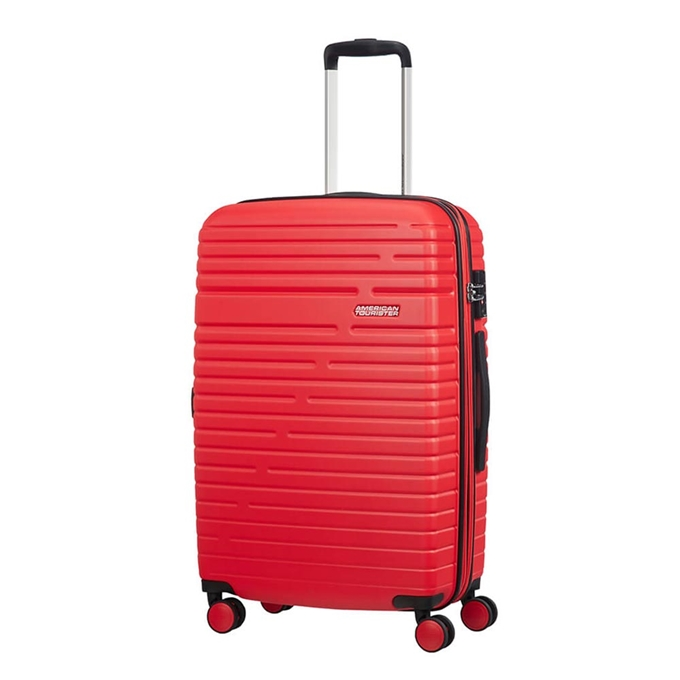 American Tourister Aero Racer Spinner 68 Expandable poppy red - 1