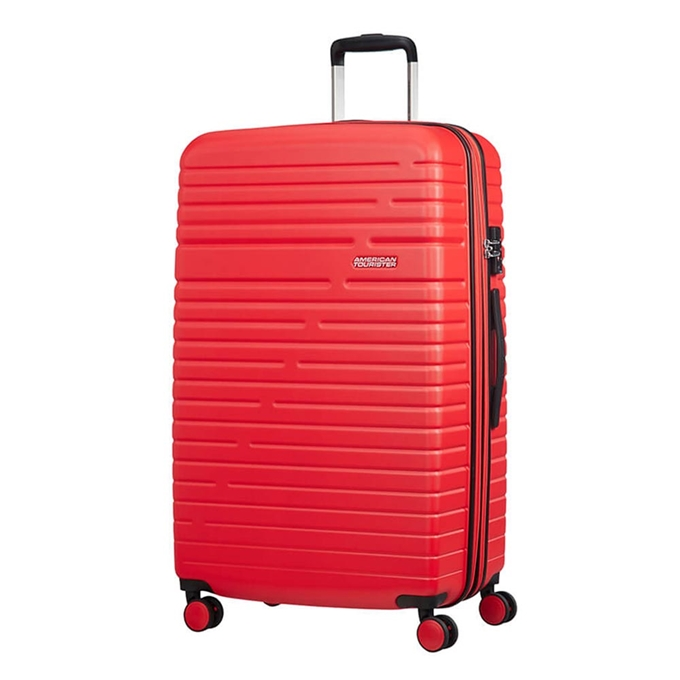 American Tourister Aero Racer Spinner 79 Expandable poppy red