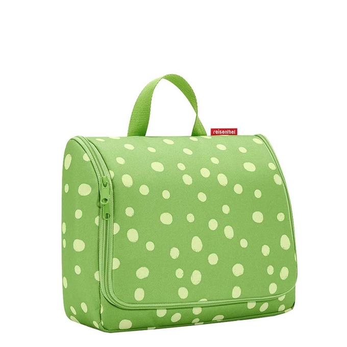 Reisenthel Travelling Toiletbag XL spots green
