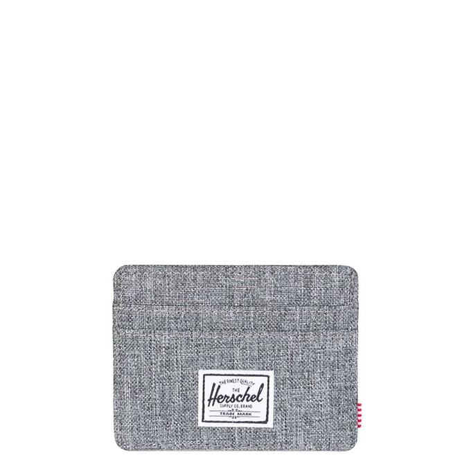 Herschel Supply Co. Charlie Pashouder RFID raven crosshatch - 1
