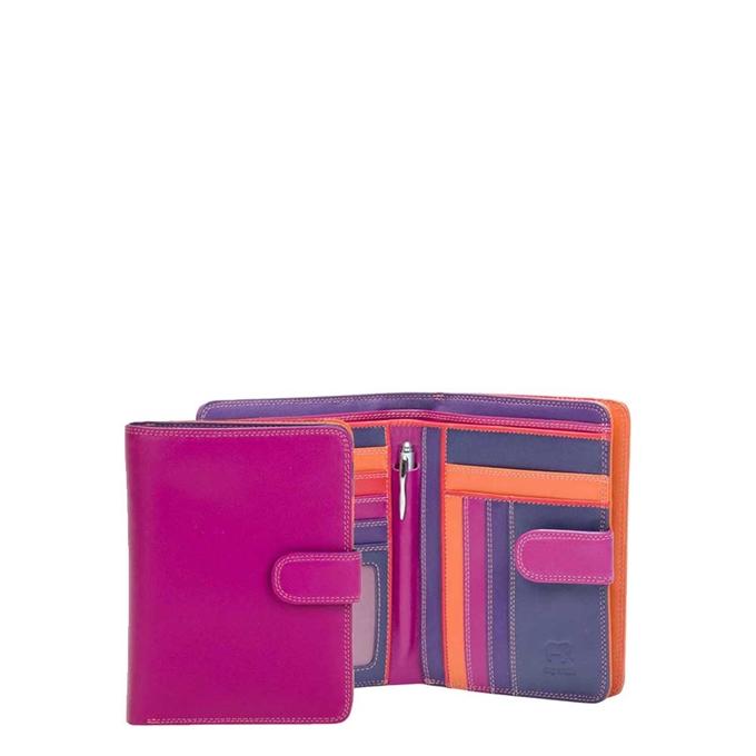 Mywalit Ladies Large Wallet Zip Purse sangria multi - 1