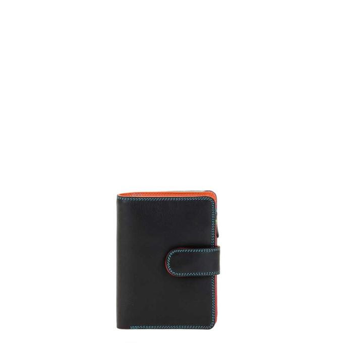Mywalit Ladies Medium 10 CC Wallet with Zip Purse black/pace - 1