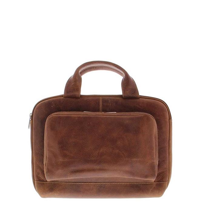 "Plevier Urban Akasaka Laptop Sleeve 14"" cognac - 1"