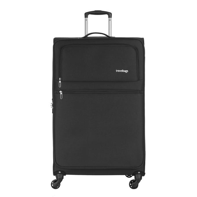 Travelbags Lissabon Koffer - 77 cm - 4 wielen - black - 1