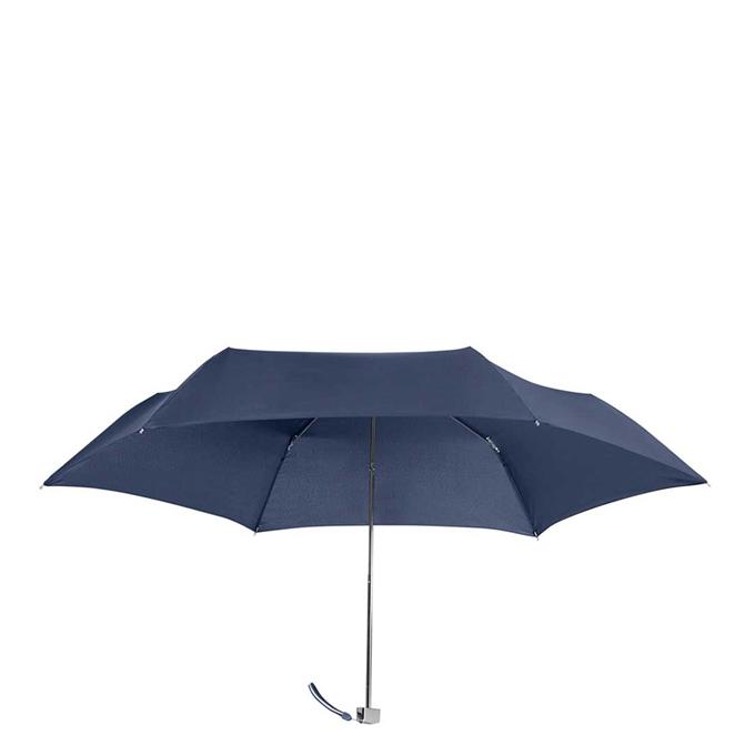 Samsonite Rain Pro 3 Sect. Ultra Mini Flat blue - 1