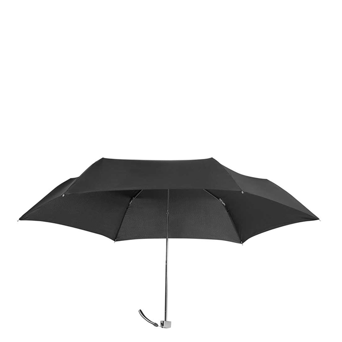 Samsonite Rain Pro 3 Sect. Ultra Mini Flat black - 1
