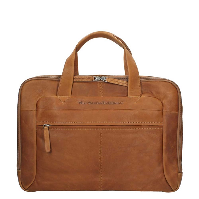 The Chesterfield Brand Ryan Laptopbag Large cognac - 1
