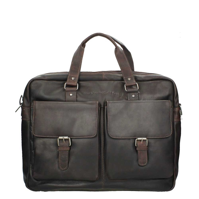 The Chesterfield Brand Dylan Laptopbag Large brown - 1