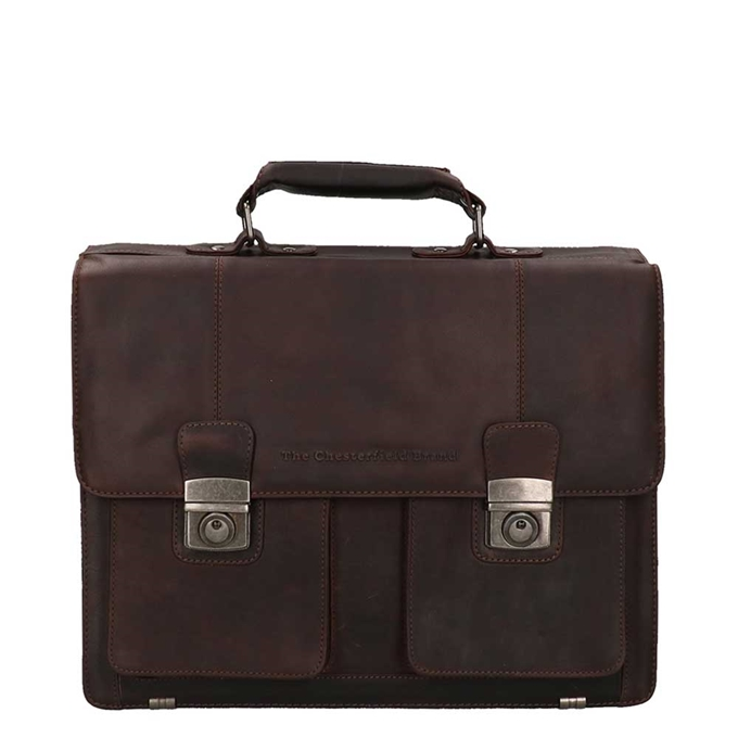 The Chesterfield Brand Mario Shoulderbag brown - 1