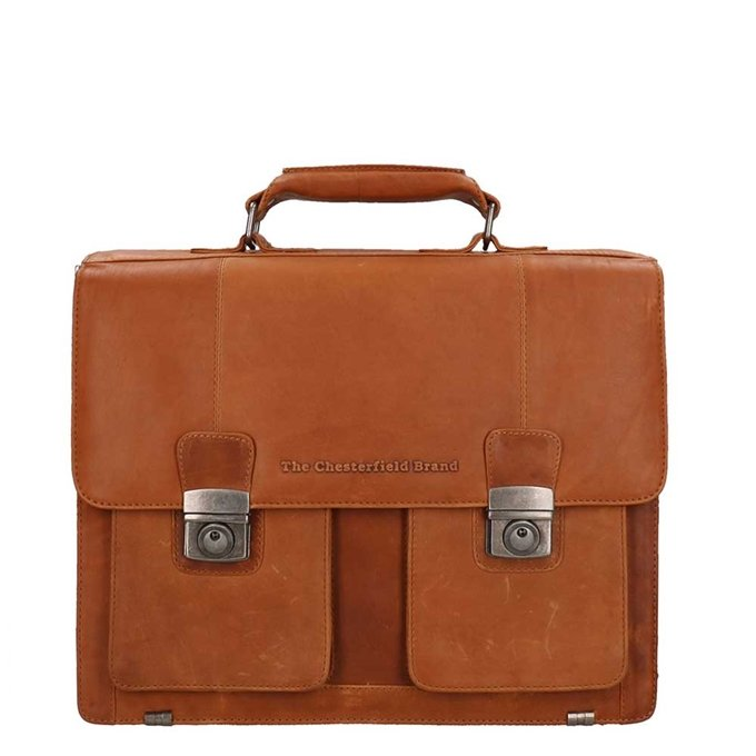 The Chesterfield Brand Mario Shoulderbag cognac - 1