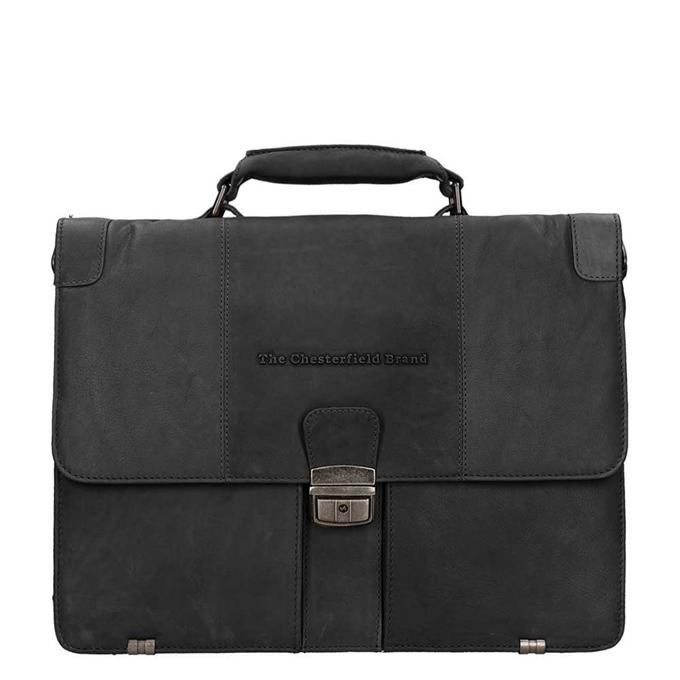 The Chesterfield Brand Joe Shoulderbag zwart - 1
