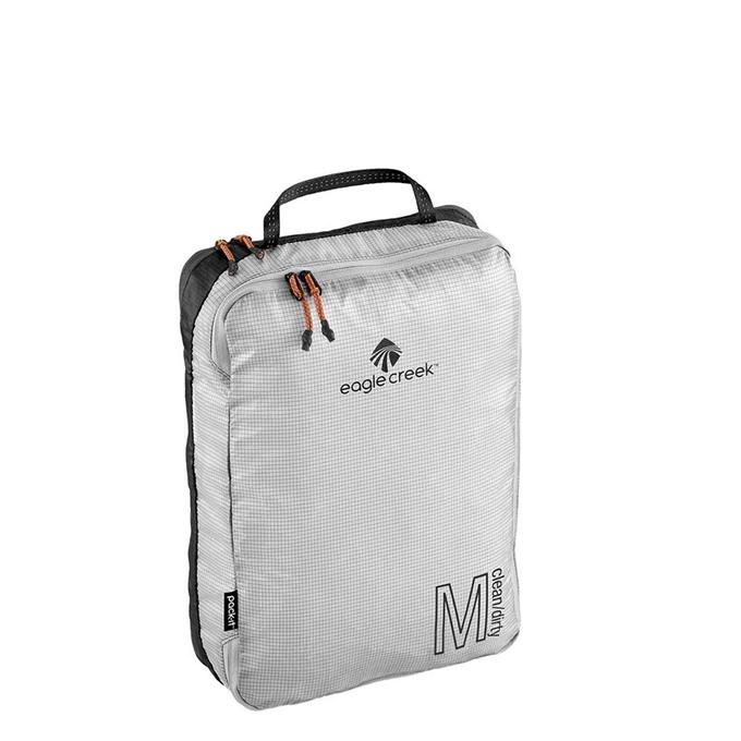 Eagle Creek Pack-It Specter Tech Clean/Dirty Cube M black / white - 1