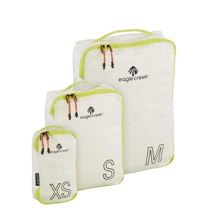 Eagle Creek Pack-It Specter Tech Cube Set XS/S/M white / strobe - 1